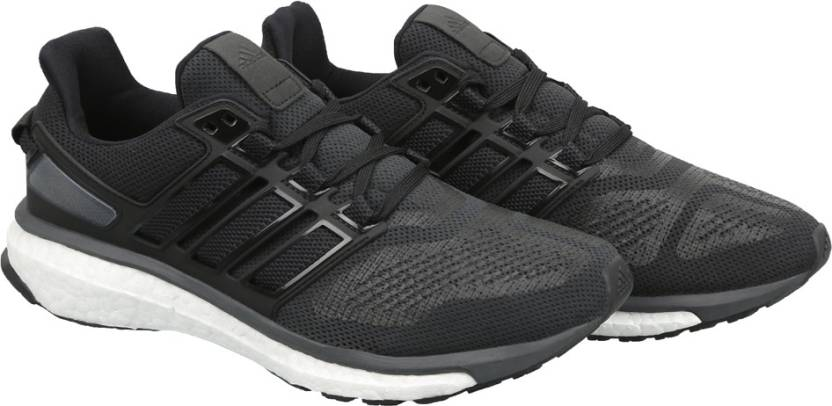 best sneakers b8c43 b584d ADIDAS ENERGY BOOST 3 M Running Shoes For Men (Black)