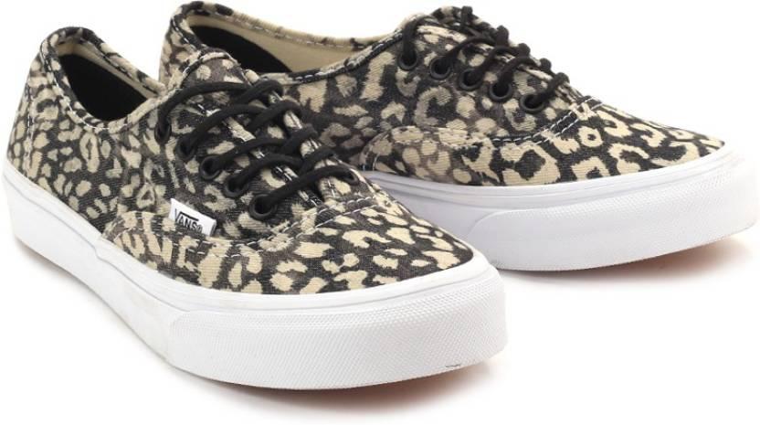 bf3f1ecf7675b0 Vans Authentic Slim Canvas Sneakers For Women (Black
