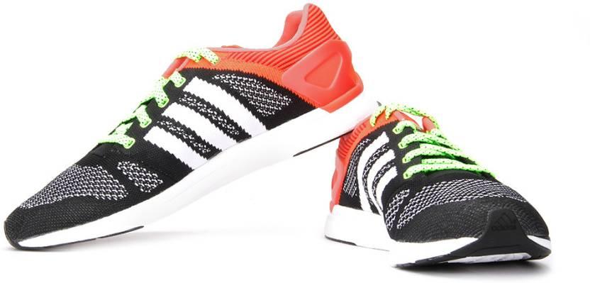 purchase cheap 16b89 2049b ADIDAS Adizero Feather Prime M Running Shoes For Men (Black, Orange)