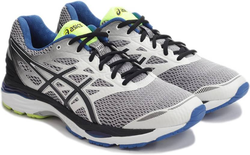 daa4f64b5d8213 Asics GEL-CUMULUS 18 Sports Shoe For Men - Buy WHITE/BLACK/ELECTRIC ...