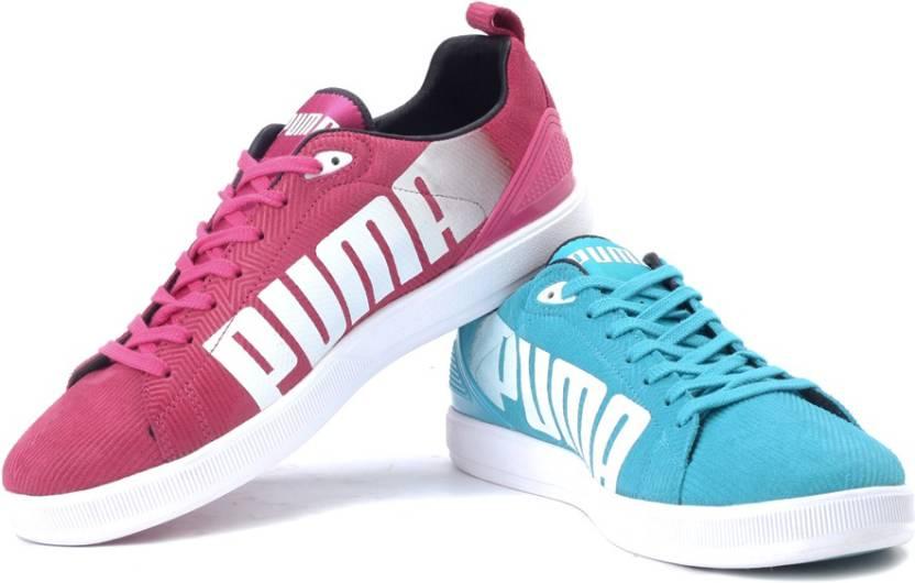 Puma Blau Pink Schuhe inkline
