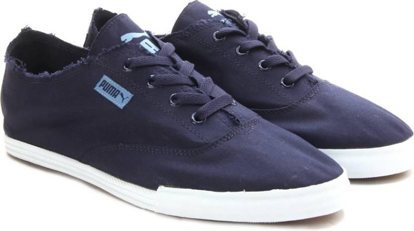 Puma PumaStreetsalaDP Men Canvas Shoes For Men - Buy peacoat-blue ... 5c4413e96ab4