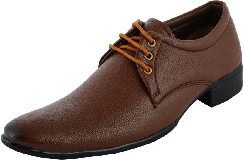 best website 21c8d 70216 Guido Italian Lace Up For Men - Buy Brown Color Guido ...