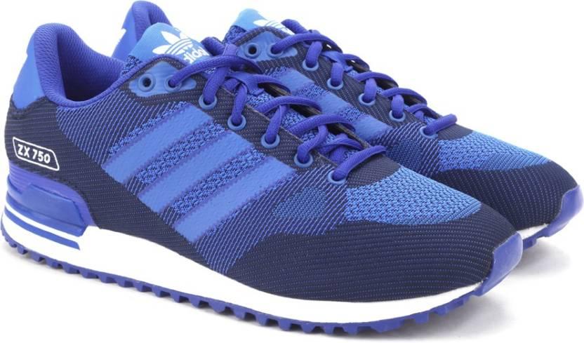 adidas originali zx 750 w / uomini scarpe per gli uomini comprano boblue / blu