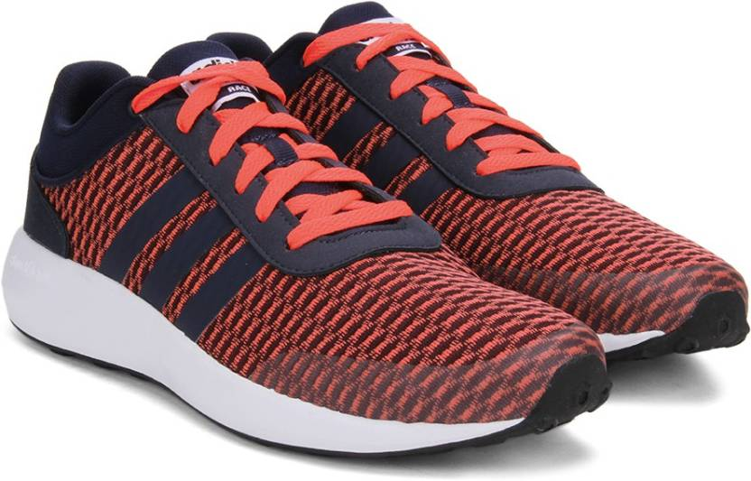 the best attitude 1df2a 46c70 ADIDAS NEO CLOUDFOAM RACE Sneakers For Men (Navy, Red, White)