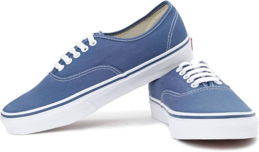 Vans Authentic Canvas Shoes For Men - Buy Navy Color Vans Authentic ... ea4f66ff9