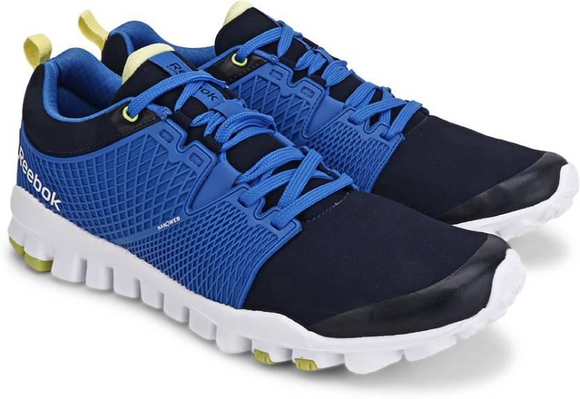 cf9499faaece REEBOK QUICK TEMPO FLEX Men Running Shoes For Men - Buy NAVY BLUE ...