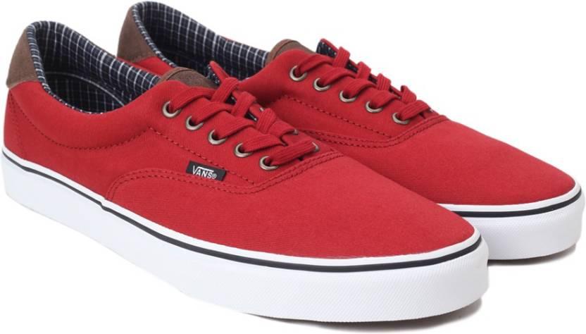 Vans Era 59 Sneakers For Men - Buy Red Color Vans Era 59 Sneakers ... d85c05c5e
