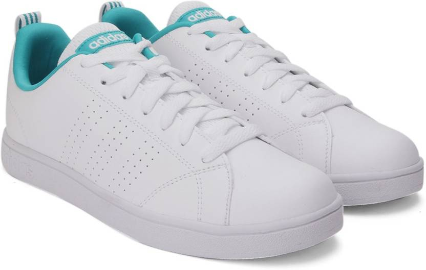 premium selection 4eee6 a561f ADIDAS NEO ADVANTAGE CLEAN VS W Sneakers For Women (Green, White)