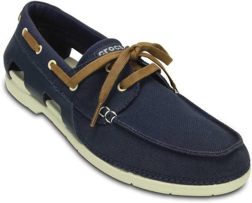 d5eec4ef4222a7 Crocs Boat Shoes For Men - Buy 200247-46K Color Crocs Boat Shoes For ...