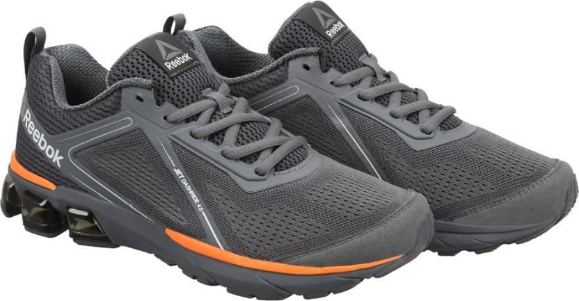 39f35167f524 REEBOK JET DASHRIDE 4.0 Running Shoes For Men - Buy GREY ALLOY ...