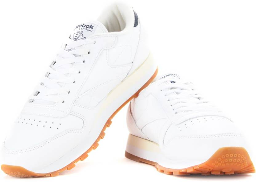 0034bc6035a REEBOK CL LTHR LP Sneakers For Men - Buy WHITE GUM Color REEBOK CL ...