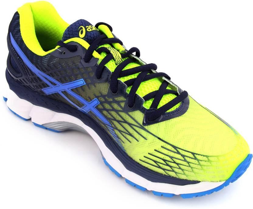 476c4114e2be9b Asics Gel-Nimbus 17 Running For Men - Buy Flash Yellow Electric Blue ...