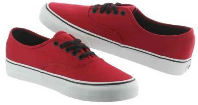 584e0c7b48 Vans AUTHENTIC Men Sneakers For Men - Buy chili pepper black Color ...