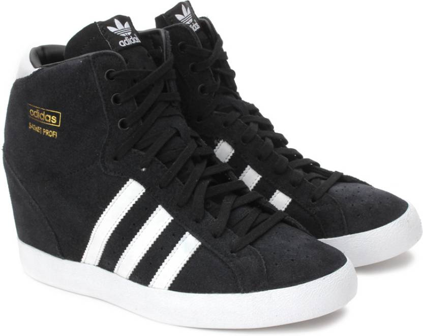 e1d03dcc ADIDAS Basket Profi Up W High Ankle Sneakers For Women - Buy Black ...