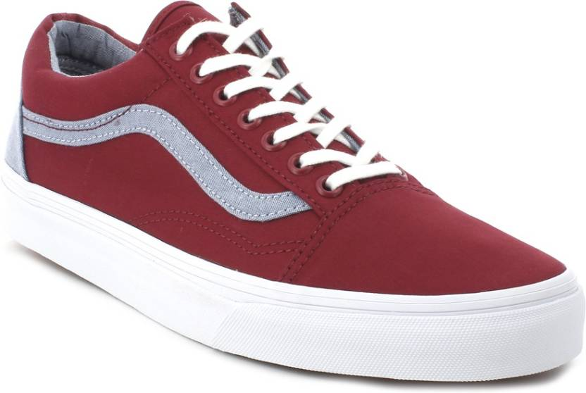 Vans Old Skool Sneakers For Men - Buy (T C) Biking Red 021eaaf60