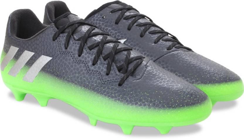 ADIDAS MESSI 16.3 FG Football Shoes For Men - Buy DKGREY SILVMT ... 6e7f9706c