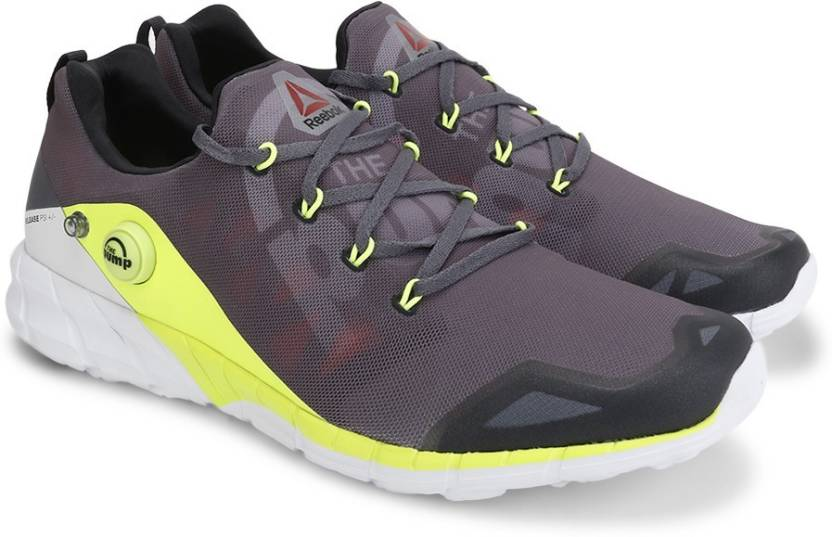 5519a45f5e5a1a REEBOK ZPUMP FUSION 2.0 Running Shoes For Men - Buy ALLOY GREY YELL ...