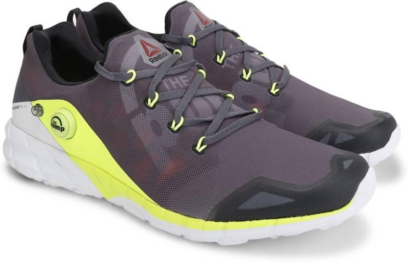 c20cb70ab849 REEBOK ZPUMP FUSION 2.0 Running Shoes For Men - Buy ALLOY GREY YELL ...