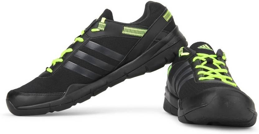 info for 65abe f08e5 ADIDAS Windcrust Hiking  Trekking Shoes For Men (Black)