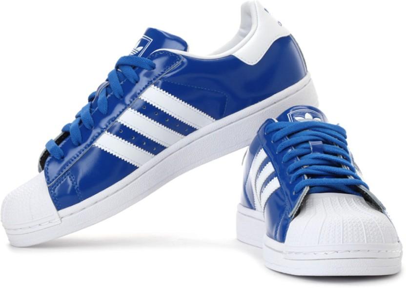 adidas originals superstar ii sneakers for men buy blue color rh flipkart com  adidas originals superstar sneakers india