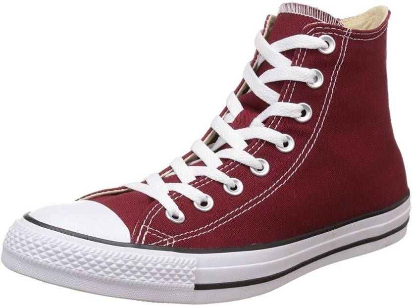 9e6008c8cab739 Converse 154807C All Star Series High Ankle Canvas 4UK Canvas Shoes For Men  (Maroon)