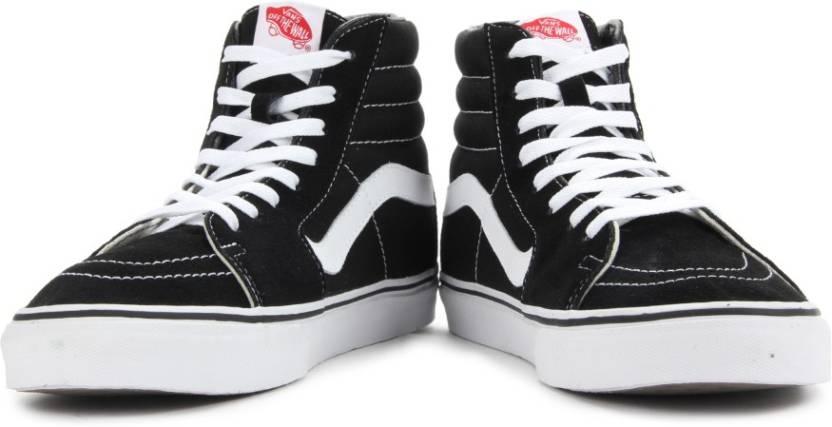 c6807bfd5bb Vans Sk8-Hi Men Sneakers For Men - Buy Black Color Vans Sk8-Hi Men ...