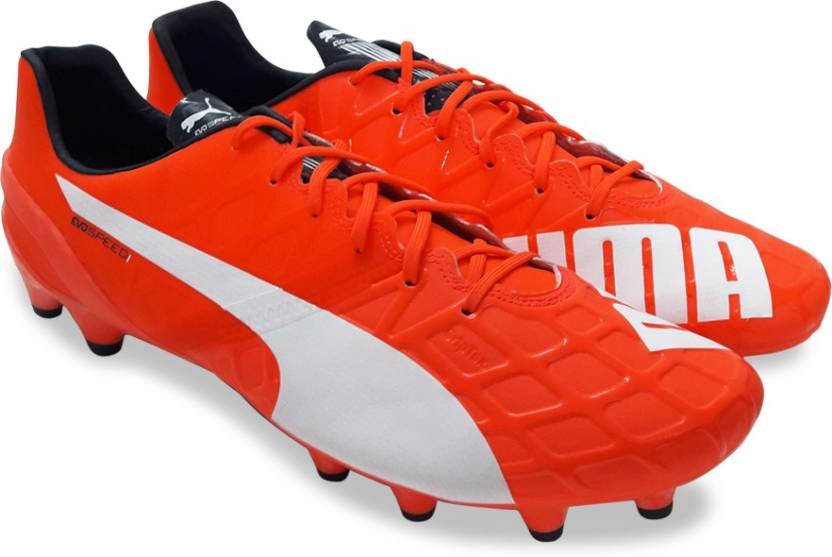 7ca406704 Puma evoSPEED 1.4 FG Football Shoes For Men - Buy lava blast-white ...