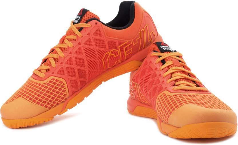 9230048c9b58 REEBOK R Crossfit Nano 4.0 Training   Gym Shoes For Men - Buy Orange ...