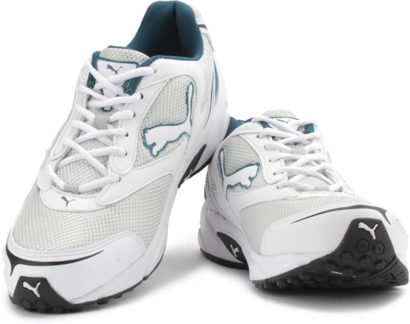 285f36a3a1a63f Puma Aron DP Men Running Shoes For Men - Buy Puma Silver, White ...