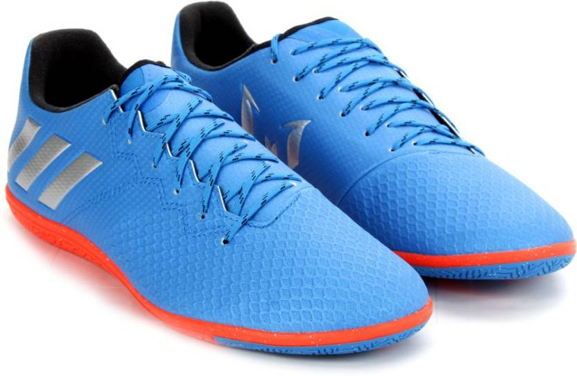 094525dbebea ADIDAS MESSI 16.3 IN Football Shoes For Men - Buy SHOBLU/MSILVE ...