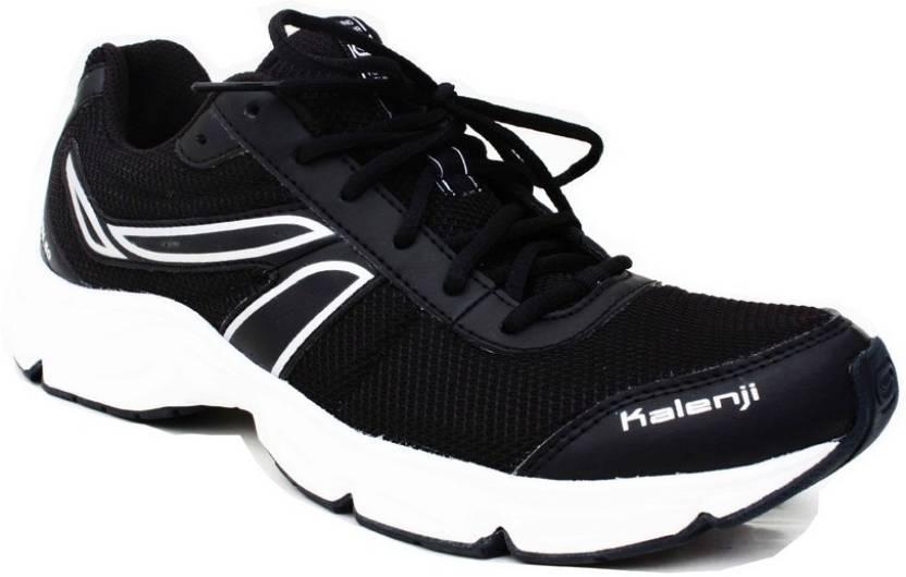 timeless design dc0ab 6c159 Kalenji by Decathlon Ekiden 50 Black Running Shoes For Men