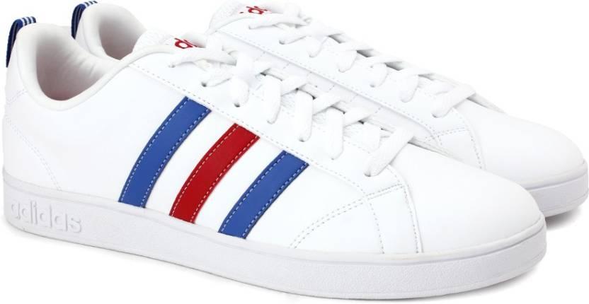 adidas neo vs vantaggio per gli uomini comprano scarpe ftwwht / blu / powred