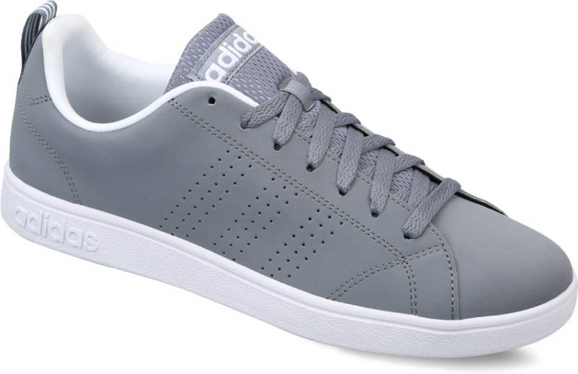 sale retailer 6bee7 f96ce ADIDAS NEO ADVANTAGE CLEAN VS Sneakers For Men (Grey, White)
