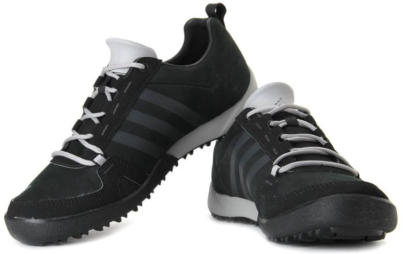 outlet store 139a0 a4d74 ADIDAS Daroga Two 11 Lea Q4 Outdoors Shoes For Men (Black)