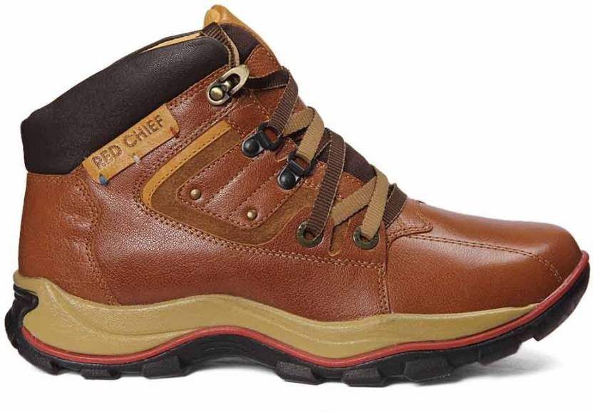 a6154b6e5e87 Red Chief G.Tan Outdoors Shoes For Men - Buy Brown Color Red Chief G ...