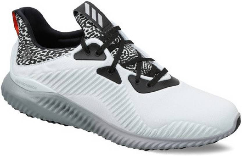 3cdcb8055039b ADIDAS ALPHABOUNCE M Running Shoes For Men - Buy White Color ADIDAS ...