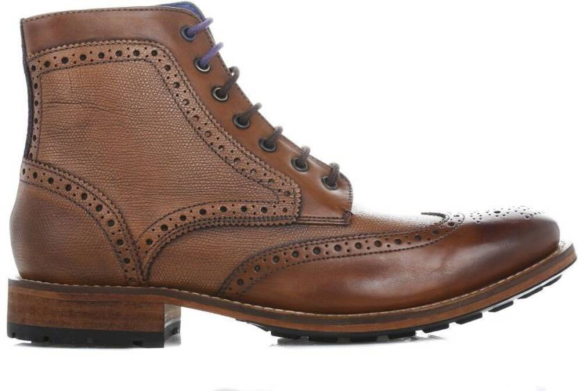 a485b0ae847f Ted Baker Mens Tan Sealls 2 Leather Boots Boots For Men - Buy Tan ...