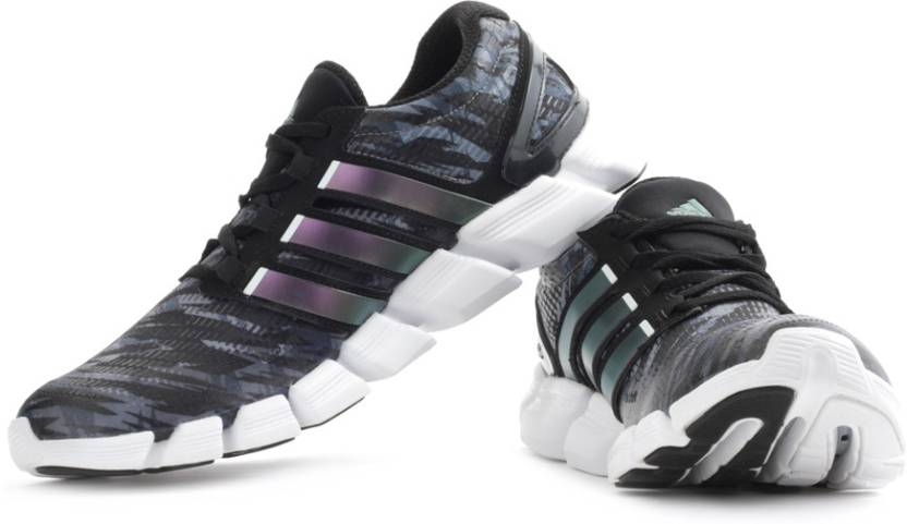 free shipping feeca 5b7ca ADIDAS Adipure Crazy Quick M Running Shoes For Men (White, Purple,  Multicolor, Black)