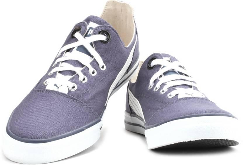 d9196c813fe39d Puma Lynus DP Sneakers For Men - Buy Navy Blue-White Color Puma ...