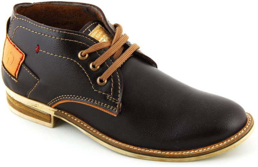 4d01eaa185aeb Lee Grain Casual Shoes For Men - Buy Brown Color Lee Grain Casual ...