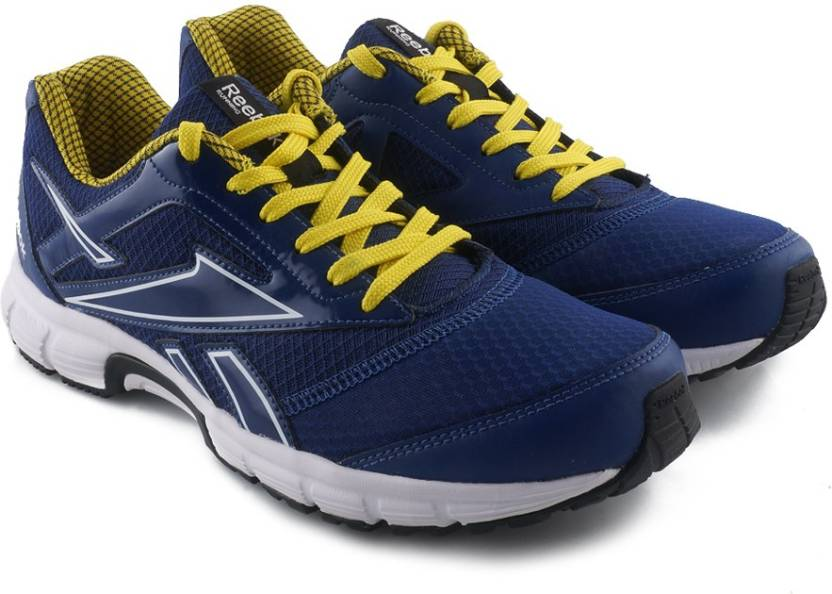 0e27e7c918e REEBOK CRUISE RUNNER 2.0 Running Shoes For Men - Buy BLUE YELLOW WHT ...