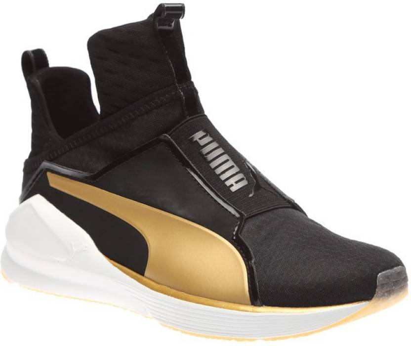 e17fbd87116 Puma Fierce GOLD Training   Gym Shoes For Women - Buy Puma Black ...