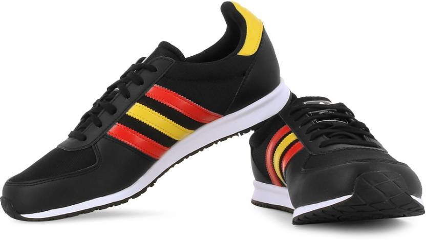 pretty nice c103b c1ad3 ADIDAS ORIGINALS Adistar Racer Sneakers For Men (Black)
