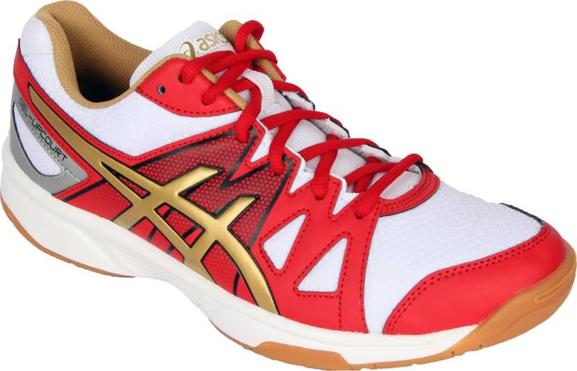 photos officielles 37b11 e4f56 Asics Gel-Upcourt Badminton Shoes For Men