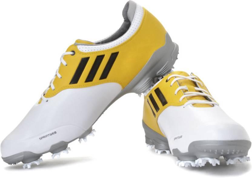 47f728de4ae6ac Adidas Golf Adizero Tour Wd Golf Shoes For Men - Buy White