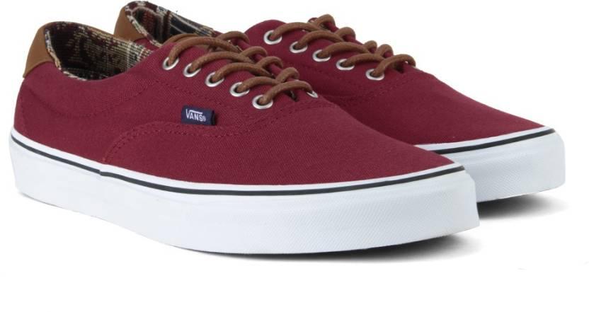 Vans ERA 59 Men Sneakers For Men - Buy (C L) tibetian red geo weave ... 47ee9025b