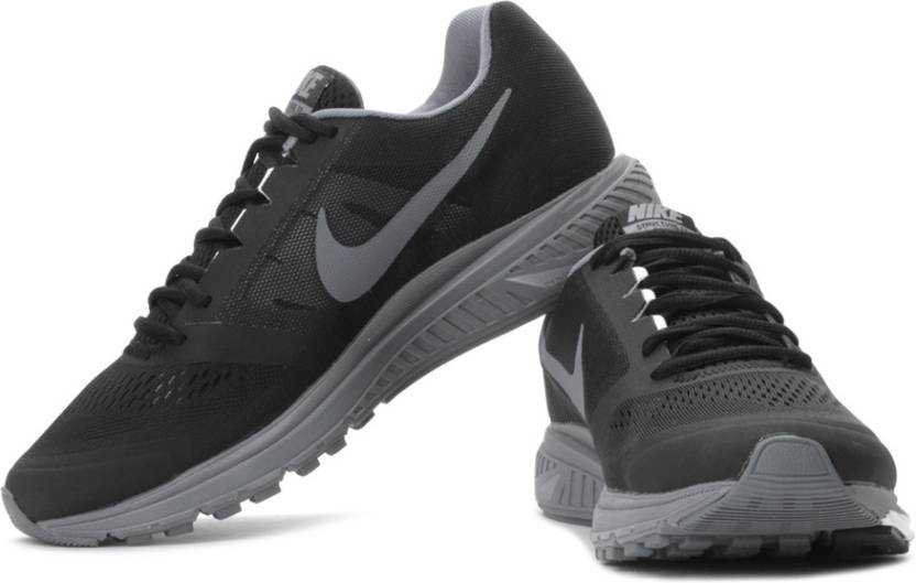 f64440b75b01 Nike Zoom Structure+ 17 Running Shoes For Men - Buy Black Color Nike ...