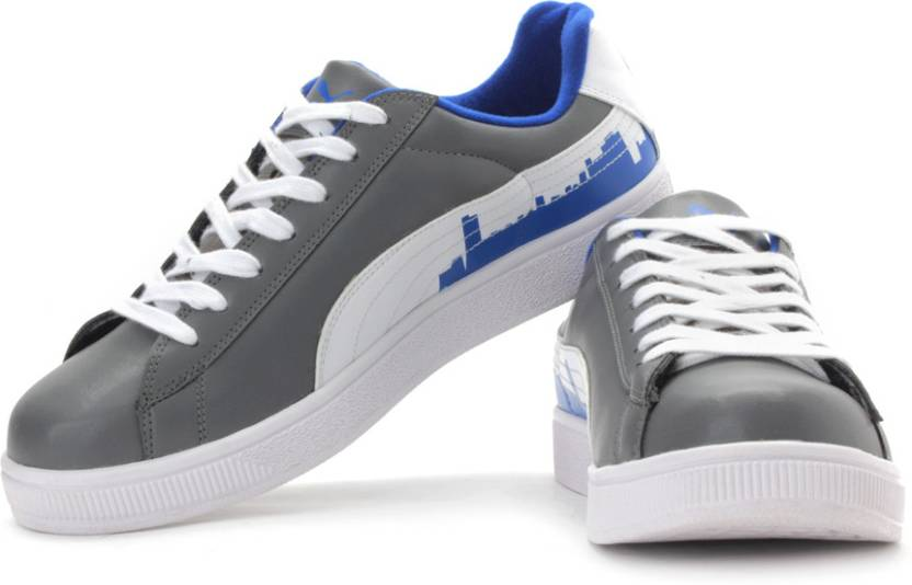 e4403984d121 Puma BASKET CITY Ind- Sneakers For Men - Buy Steel Gray