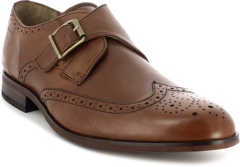 c0ba43c080dd Ruosh Monk Strap Shoes For Men - Buy Tan Color Ruosh Monk Strap ...